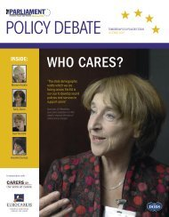 WHO CARES? - Sociology and Social Policy - University of Leeds