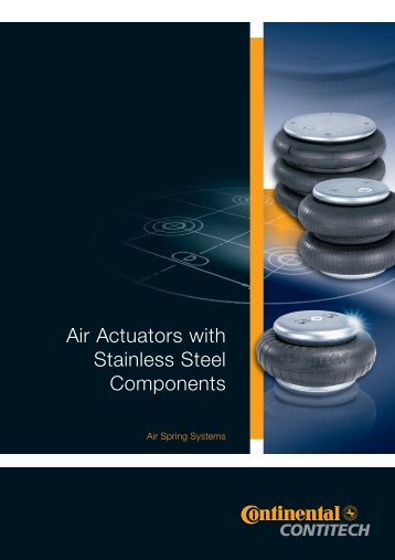 Air Actuators with Stainless Steel Components Brochure (PDF | EN ...