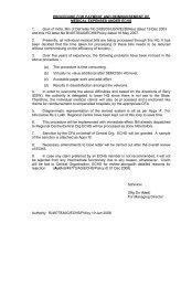 Procedure for payment and reimbursement of medical ... - ECHS