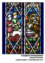 Rundbrief 5-2009 - Evangelische Kirchengemeinde Oberndorf am ...