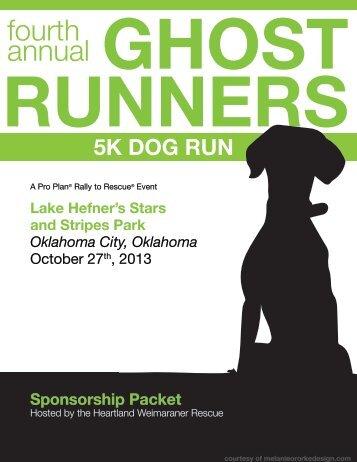 Sponsorship Packet - Ghost Runners 5k Dog Run