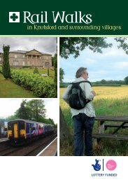 Rail Walks in Knutsford and surrounding villages - The Mid Cheshire ...