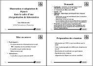 PP Schietekatte Exemple d'utilisation du guide Déparis dans un ...