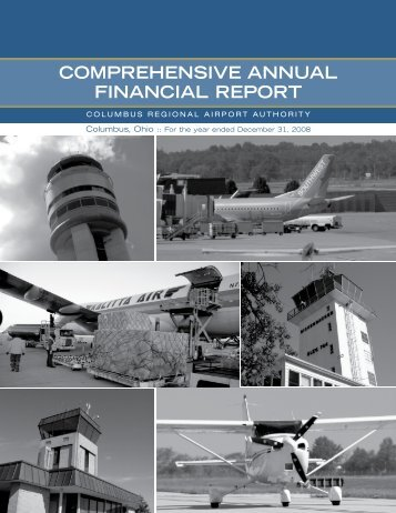 comprehensive annual financial report - Columbus Regional Airport ...