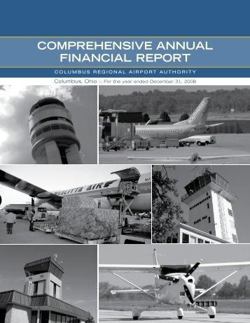 comprehensive annual financial report - Columbus Regional Airport ...