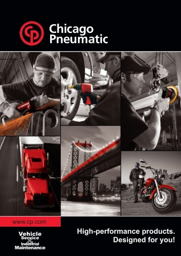 CP-Chicago Pneumatic Vehicle Services Catalog - CH Reed Inc.