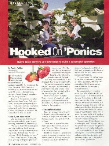 Hooked On'Ponics