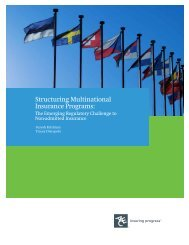 Structuring Multinational Insurance Programs: The ... - ACE Group
