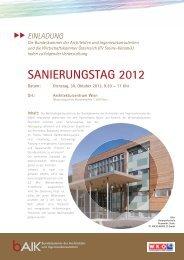 Das Programm - POS Architekten
