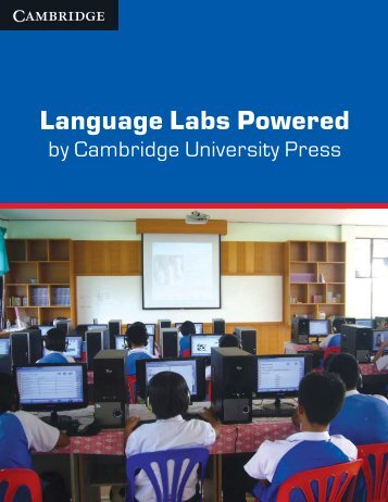 Language Labs 2013 - Cambridge University Press India