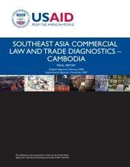 cambodia - Economic Growth - usaid