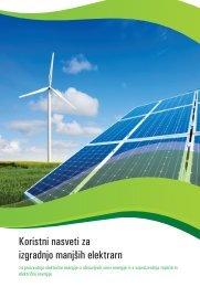 Priročnik Koristni nasveti za izgradnjo manjših elektrarn - Borzen
