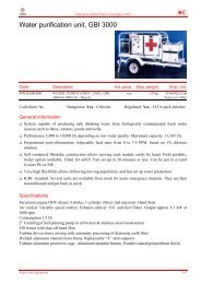 Water purification unit, GBI 3000 - International Red Cross and Red ...