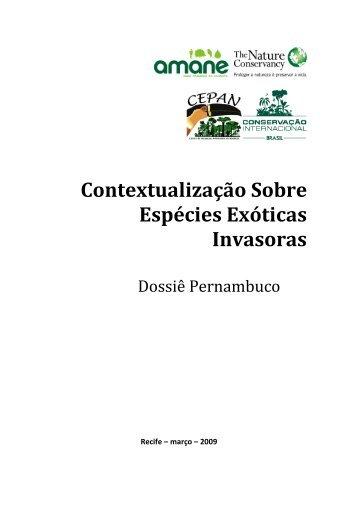 Contextualização Sobre Espécies Exóticas Invasoras - Projeto Aves ...
