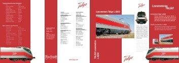 Locomotoras TALGO - Talgo Deutschland