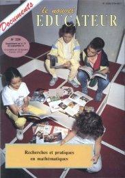 Recherches et pratiques en mathématiques - Icem