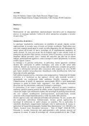 Enzo Di Fabrizio, Gianni Cuda, Paolo Decuzzi, Filippo Causa ... - Crui