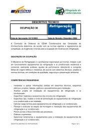 Refrigeração - nead@senairs.org.br