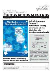 Volksabstimmung zu Stuttgart 21: Am nächsten Sonntag - Müllheim