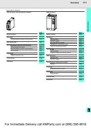 DS4 soft starters and semiconductor contactors by Moeller