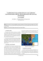 Campanian-maastriChtian CalCareous nannofossils ... - GeoEcoMar
