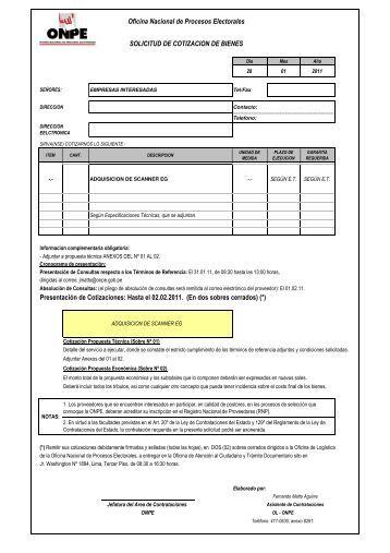 Formato De Cotizaciones | formato de cotizaciones ...