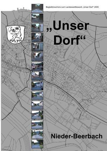 Besichtigungsroute in Nieder-Beerbach - Gemeinde Mühltal