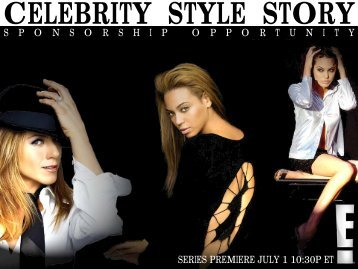 CELEBRITY STYLE STORY - Bell Media