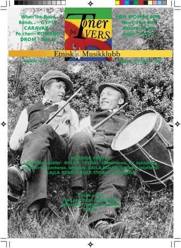 Katalog nr 65 - Velkommen til Etnisk Musikklubb