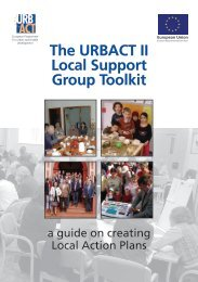 The URBACT II Local Support Group Toolkit