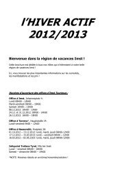 l'HIVER ACTIF 2012/2013 Bienvenue dans la région de vacances Imst