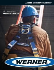 fall protection product catalog - National Ladder and Scaffold Co.