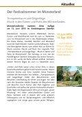 Rückblick 1. Juli 2010 - Kulturbüro Münsterland - Seite 7