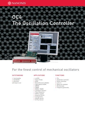 OC4 The Oscillation Controller - Nanonis