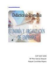 La Nueva economía - Ecobachillerato