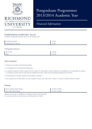 Postgraduate Fee Sheet - International Students 2013/14