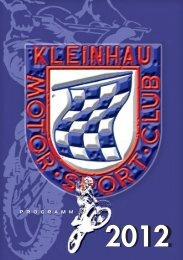 Programmheft 2012 - MSC Kleinhau