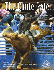 February 2013 / Volume 24 - Professional Cowboy Association