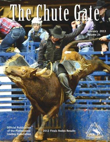February 2013 / Volume 24 - Professional Cowboy Association