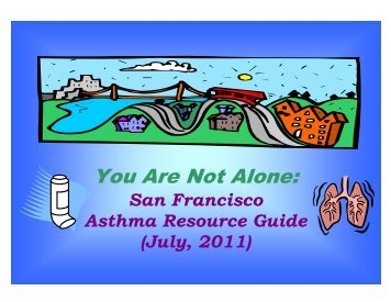 You Are Not Alone - San Francisco Department of Public Health