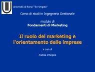 Orientamento strategico delle imprese
