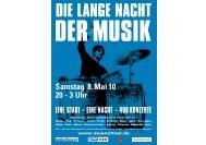 DIE LANGE NACHT - Münchner Kultur GmbH