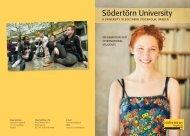 Information for international students - Södertörns högskola