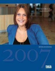 Ladda ner PDF-version av årsredovisningen 2007 här - Poolia