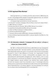 3.5 Gli Inquinanti Non Normati - Provincia di Ferrara