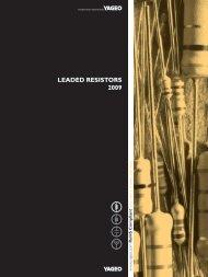 Leaded ResistoRs 2009