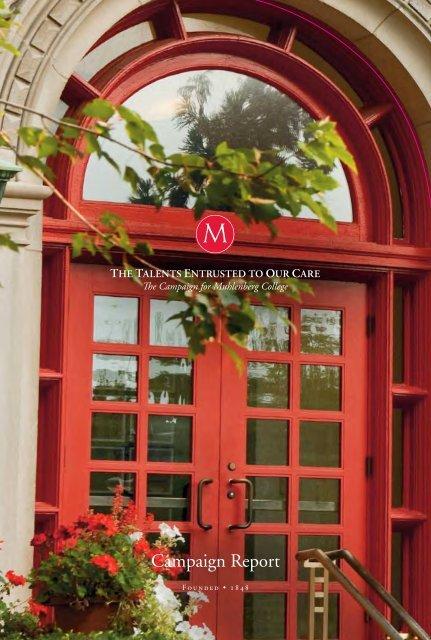 Campaign Report - Muhlenberg College