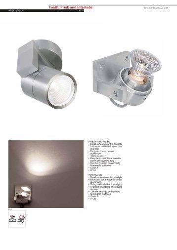 Interlude Range Gu10 - Spazio Lighting
