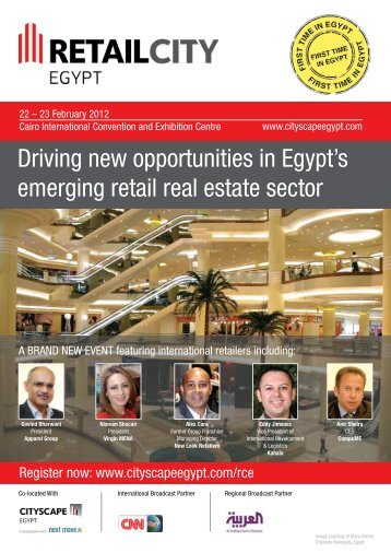 Driving new opportunities in Egypt's emerging ... - Cityscape Egypt