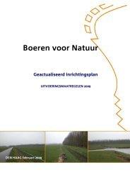 uitvoeringsplan Boeren voor Natuur versie 18-2-2009